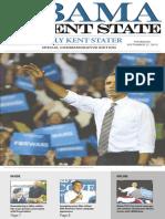 Barack Obama came to Kent State