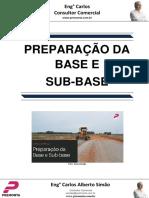 Preparação Da Base e Sub-base