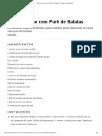 Bolo de Carne Com Purê de Batatas _ Receita _ Tastemade