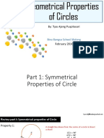 Tyas - Geometrical Properties of a Circle