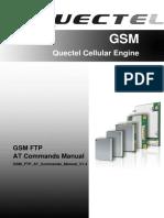 Quectel GSM FTP at Commands Manual V1.4