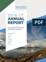 2016-17 QIA Annual Report