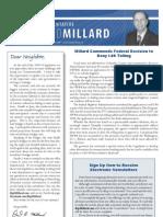 Millard Summer_Fall 2010 Newsletter