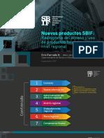 SBIF Radiografía Del Acceso y Uso de Productos Financieros a Nivel Regional Sep-17