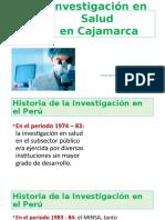 Investigación en Cajamarca