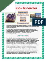 Recursos Minerales