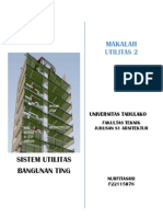 Tugass Sistem Utilitas Bangunan Gedung Tinggi