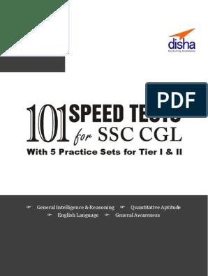 SSC Combined Graduate Level (Tier I & Tier II) Exam 101