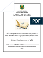 Apostila 4º Ano Espanhol AMAN 2016