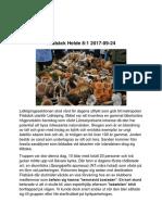 Rapport 2017-09-24 Filsbäck