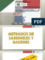 03.Exposicion de Metrados Sardineles y Badenes-1