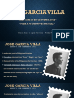 When I Was No Bigger Than a Huge and First a Poem Must Be Magical by Jose Garcia Villa
