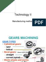 Gears Machining