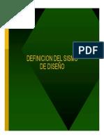 2 Definicion Del Sismo de Diseño