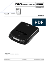 Grundig K-CDP 65 Service Manual