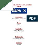 Tarea 4 Propedeutico de Español Mateo