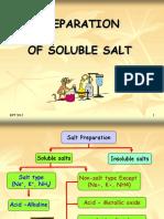 8.1 (b) Soluble salts
