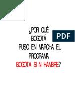 Bogota Sin Hambre