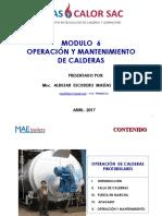 Mantenimiento y Operacion de Calderas