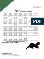 Albemarle Family YMCA Pool Schedule