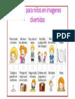 rutinas para niños en imagenes.docx