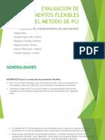Evaluación de Pavimentos Flexibles Por El Método de PCI
