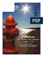 UWP F-06 AWWA Fire Hydrant Brochure