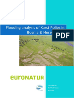 Flooding Analysis of Karst Poljes in Bosnia and Herzegovina 3152013