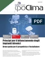 Principi Per Il Bilanciamento Degli Impianti Idronici-impianti a Portata Costante