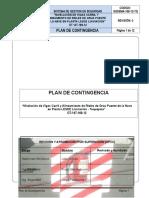 Plan de Contingencia LESDE AGO 2012
