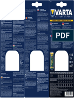 Varta 57039 Punjac Manual