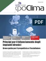 Principi Per Il Bilanciamento Degli Impianti Idronici-impianti a Portata Variabile Con PICV