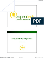 Introduction to Aspen Dynamics