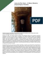 Os Túneis Secretos de Rio Claro