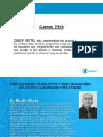 presentacion cursos 2016
