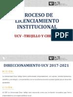 Información Licenciamiento Ucv