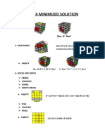 4x4x4 Minimized Solution