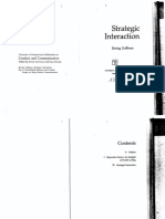 (Conduct and Communication) Erving Goffman-Strategic Interaction-University of Pennsylvania Press (1970).pdf