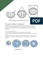 Prinsip Proyeksi Peta