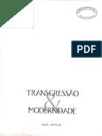 ANTELO Raul _ Trangressão e Modernidade_ Nombrarte