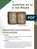 Historia Deuteronomista en El Libro de Los Reyes
