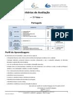 criterios port 7 ano