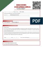 Modulo Ordine PEC 5139962