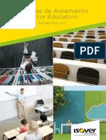 Soluciones Aislamiento Sector Educativo