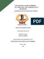 Esquema de Presentacion de Monografia de Grado