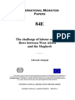 Adepoju, Aderanti - The Challenge of Labour Migration Flows West Africa Maghreb 2006