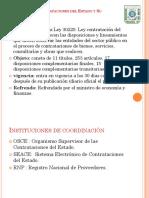 Ley de Contrataciones Del Estado y Su Normativa y Politica de Inventarios