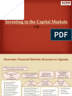 Presentation on Investing in Capital Markets1