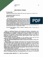Mathematical Social Sciences Volume 3 Issue 2 1982 [Doi 10.1016%2F0165-4896%2882%2990051-8] Ki Hang Kim -- Juche in International Trade