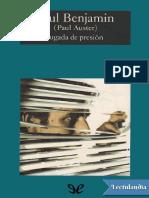 Auster, Paul - Jugada de Presión